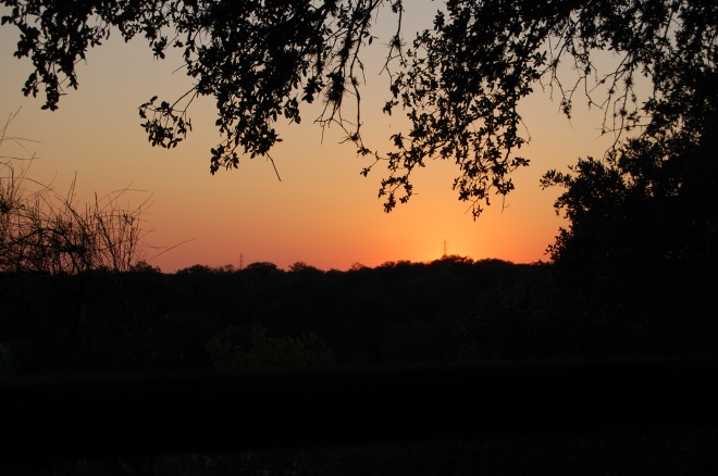 Sunset at The Gristmill is amazing.
